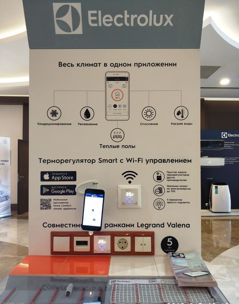 Умный дом. Управление системой кондиционирования через Wi-Fi приложение